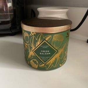 New B&BW Fresh Balsam Candle